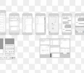 Phone APP Artwork - Website Wireframe Mobile App Template IOS Mobile Web PNG