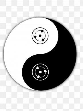 Yin And Yang - Yin And Yang Tomoe Itachi Uchiha Sharingan T-shirt PNG