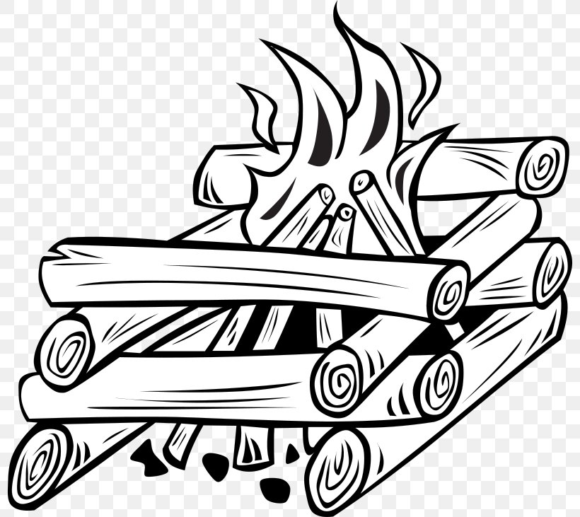 Bonfire clipart black and white, Bonfire black and white Transparent FREE  for download on WebStockReview 2020