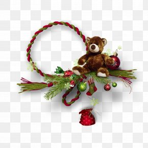 Necklace - Christmas Ornament Picture Frames Ded Moroz PNG