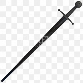 Black Sword Transparent - Sword PNG