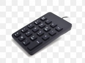 Numeric Keypad - Computer Keyboard Numeric Keypads Space Bar Computer Network PNG