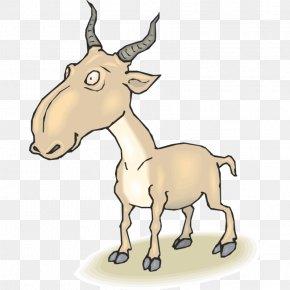 Goat - Goat Sheep Cattle Clip Art PNG
