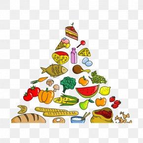 Creative Food Pyramid - Food Pyramid Euclidean Vector PNG