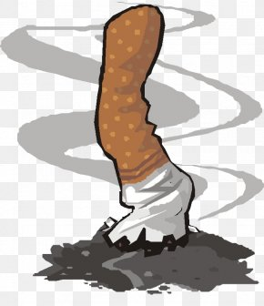 Twisted Burning Cigarette Butts - Cigarette Tobacco Smoking Hohai University Combustion PNG