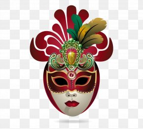Mask - Carnival Of Venice Mask PNG