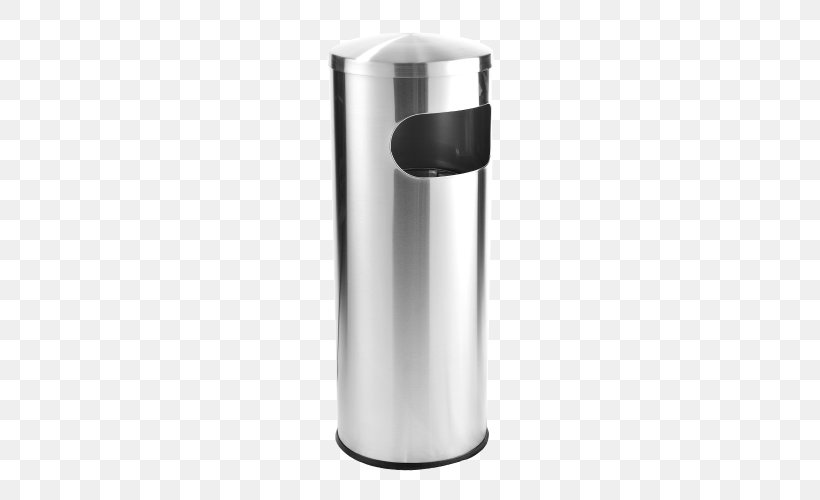 Rubbish Bins & Waste Paper Baskets Stainless Steel Lid Metal, PNG, 500x500px, Rubbish Bins Waste Paper Baskets, Ashtray, Box, Cleaning, Container Download Free