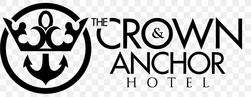 Logo The Crown Anchor Hotel Entertainment Pub Png 2503x971px Logo Accommodation Area Bistro Black Download