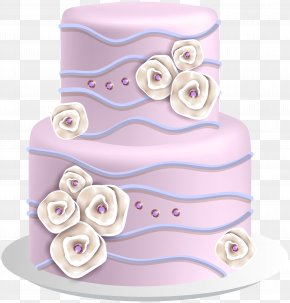 Elegant Cake Clip Art Image - Wedding Cake Birthday Cake Clip Art PNG