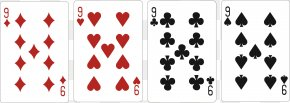 9 Exquisite Cards Templates - Bicycle Playing Cards Card Game Pinochle PNG