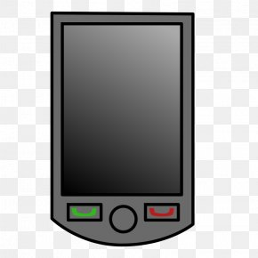 Electronic - PDA Smartphone Mobile Phones Clip Art PNG
