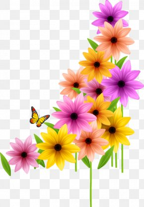 Wedding Color Flowers - Flower Spring Clip Art PNG
