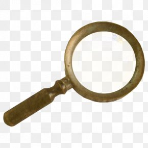 Magnifying Glass Icon - Steampunk Victorian Era Material Magnifying Glass PNG