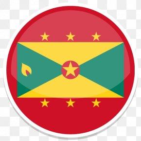 Grenada - Symbol Circle Yellow Area Clip Art PNG