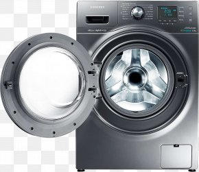 Washing Machine - Washing Machine Cloud Electricity Laundry Detergent PNG