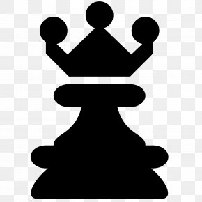Chess Piece - Chess Piece Queen King White And Black In Chess PNG