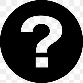 Font Awesome Question Mark PNG