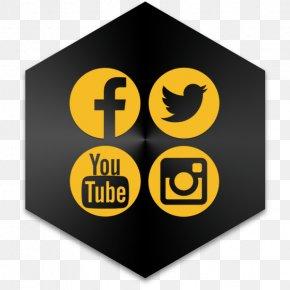Social Media Icons Watercolor - Social Media Marketing Digital Marketing Clip Art PNG