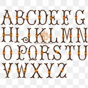 Thames - Curlz Typeface Letter Case Monogram Font PNG
