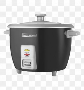 Rice Cooker - Rice Cookers Black & Decker Home Appliance Tool Stock Pots PNG