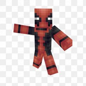 Paper Craft - Minecraft: Pocket Edition Deadpool Iron Man Marvel Comics PNG