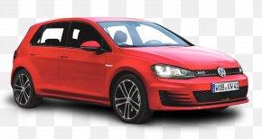 Red Volkswagen Golf GTD Car - 2014 Volkswagen Golf Car Citroxebn C4 Volkswagen Golf GTD PNG