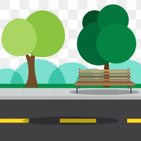 Vector Road Park - Euclidean Vector Vecteur Sustainability Icon PNG