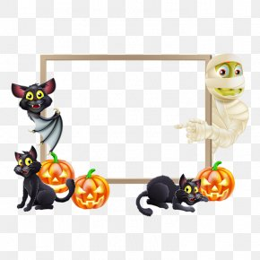 Halloween - Halloween Landscape Party Clip Art PNG