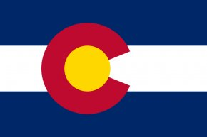 Flag Outline - Flag Of Colorado State Flag Flag Of The United States PNG