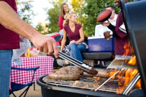 Grill - Elmhurst Barbecue Grill Summer Holiday Memorial Day PNG