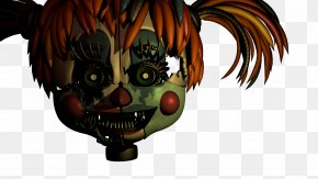 Circus Characters - Five Nights At Freddy's Blender Scrap Rendering Texture Mapping PNG