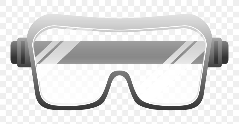 Goggles Glasses Safety Clip Art, PNG, 800x427px, Goggles, Cartoon, Eyewear, Glasses, Laboratory Download Free