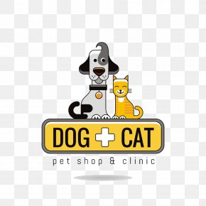 Pet Doctor Logo - Dog Cat Logo Pet PNG