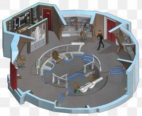 Bridge - Star Trek: The Role Playing Game Starship Enterprise USS Enterprise (NCC-1701) PNG
