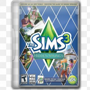 The Sims 3 Hidden Springs - Video Game Software Recreation PNG