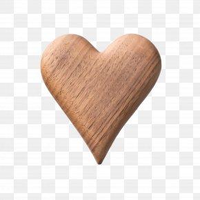 Love Beige - Heart Wood Beige Heart Love PNG