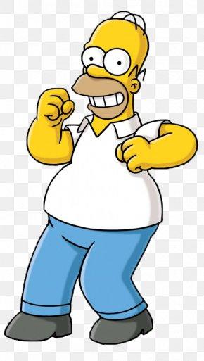Cartoon Characters Homer Simpson - Homer Simpson Bart Simpson Maggie Simpson Marge Simpson Lisa Simpson PNG