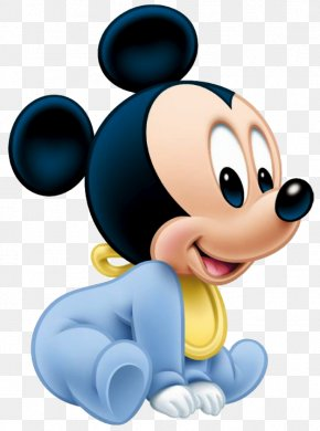 Mickey Mouse - Mickey Mouse Minnie Mouse Infant Clip Art PNG