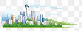 City Building Vector Illustration - Architecture Illustration PNG