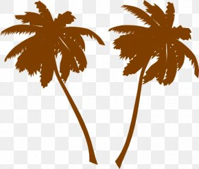 Palm Trees Clipart - Arecaceae Tree White Clip Art PNG