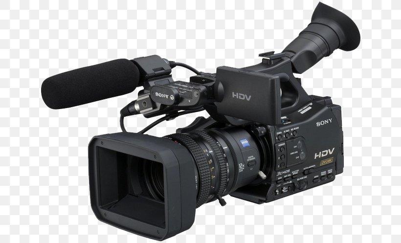 Camcorder HDV Sony Professional Video Camera, PNG, 661x497px, Camcorder, Camera, Camera Accessory, Camera Lens, Cameras Optics Download Free