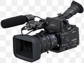 Professional Video Camera File - Camcorder HDV Sony Professional Video Camera PNG