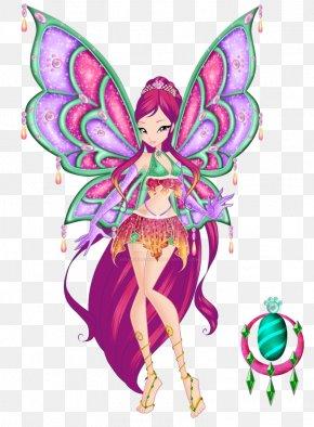 Season 1 FairyEnchantix Winx - Roxy Stella Bloom Winx Club PNG