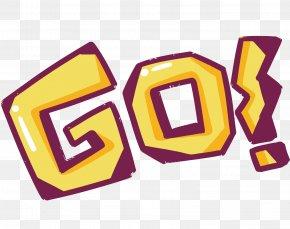 Vector GO Word Word - Sticker PNG