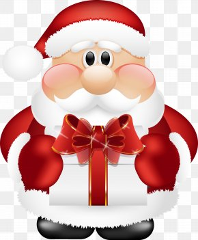 Santa Claus Image - Santa Claus Christmas Gift Clip Art PNG