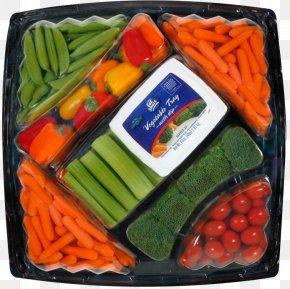 Vegetable - Baby Carrot Vegetarian Cuisine Broccoli Slaw Vegetable Tray PNG