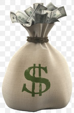 Bag Of Money - Money Bag Clip Art PNG
