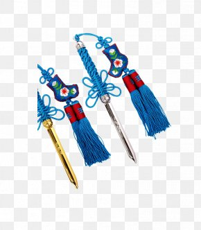 Antiquity Blue Ornaments Small Sword - Computer Graphics PNG