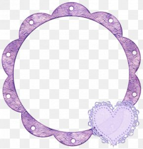 Picture Frame Lavender - Background Pink Frame PNG