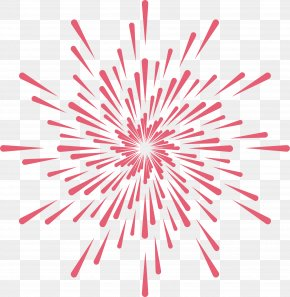 Pink Ray Pattern - Pink PNG